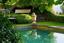 Poolside  / Beautiful pools, pool houses and poolside lounging