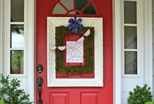 HOME: Seasonal Porch Ideas / Seasonal Porch ideas that will make you the talk of the neighborhood! DIY Decorating idea for your porch for added curb appeal.