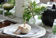 HOLIDAY: Thanksgiving Crafts and Decor / Thanksgiving Crafts and Decorating Ideas the whole family will enjoy.Thanksgiving table ideas for place settings and more.