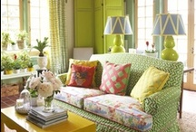 Decorating Ideas I love! / I love to decorate my house. I like new ideas that incorporate old things. Never a shortage of fabulous ideas for me to try! P.S. I like color!