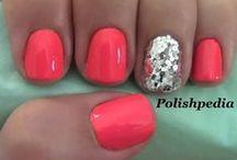 nails / #nailpolish #nailart #shellac #gelnail #nails #nailpaint #color #design #nailtech #nailtechnician