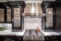 KITCHENS >> we designed & built / It's about the food, really....