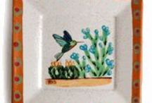 Handpainted giftware for any occasion / Handpainted ceramic gifts made 100% in our Tucson factory.