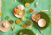 Set a Tempting Table / Delightful table settings and tablescapes.