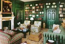 Libraries and Bookshelves / by Delores Arabian (Vignette Design)
