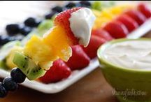 Healthy Kids/Classrooms / Ideas for healthy snacks for classroom parties, lunches, snacks, & home too ;)