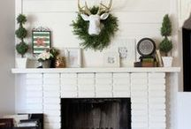 Mantel Decorating Ideas / Mantel Decorating Ideas for all the seasons.  / by Kim Demmon {Today's Creative Life}