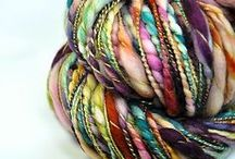 I ♡ handspun : fiber inspiration / Handspun and hand-dyed yarn, spinning and dyeing inspiration
