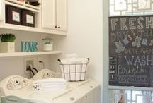 HOME: Mud Room and Laundry Room Ideas / Creative Ideas on how to decorate your Laundry Room or Mud Room.