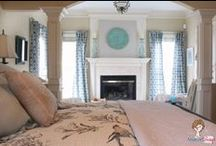 HOME: Master Bedroom Decorating Ideas / DIY Master Bedroom Decorating Ideas that will make turn your room into your own private suite. Find Master Bedroom inspiration for decorating your own bedroom.