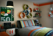 HOME: Boy Bedroom Ideas / Boys Bedroom Ideas that your kids will love you for. DIY decorating ideas for creating a fun boys bedroom. Teen boy bedroom ideas too!