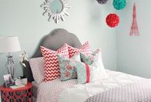 HOME: Girl Bedroom Ideas / Girls Bedroom Ideas your daughters will LOVE. Find DIY Girl Bedroom ideas to duplicate for your own home.