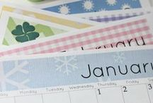 Printable 2015 Calendars / A large collection of 2015 printable calendars, including blogging calendars and much more. / by Kim Demmon {Today's Creative Life}