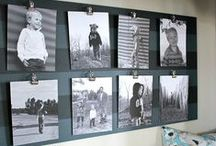HOME: Gallery Walls / IDY: How to create a photo wall or gallery wall that you will love.