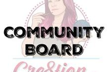 Cre8tion Crochet Community Board / This is a board designed for any fans, friends and followers of Cre8tion Crochet.  Feel free to pin whatever crochet patterns or business information you find helpful.