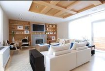 LIVING SPACES >> we designed and built / Live + Lounge