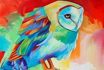 ArtfOwl / Art featuring owls!