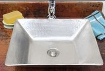 Nickel Sinks / Contemporary and stylish Nickel sinks are a easy upgrade from ceramic bowls. RusticSinks.com has a variety of in stock Nickel sinks. / by Rustic Sinks