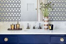 BATHROOMS >> we love / Gorgeous bathrooms to inspire anyone for ultimate pampering and relaxation.