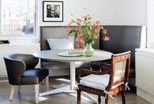 DINING SPACES >> we love