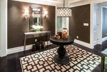 ENTRANCES >> we designed and built / The many beautiful foyer and entrances designed and built by The Renovated Home in New York City.