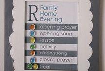 Family Home Evening / #familyhomeevening #fhe #lds #mormon #church #familynight #family #familytime