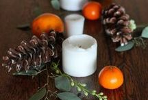 Set a festive holiday table! / Tablescapes and entertaining ideas for Thanksgiving and all the winter holidays