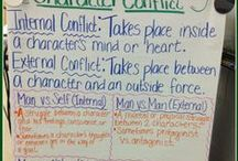 Teaching Internal and External Conflict