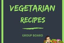 Vegetarian Recipes / This is a vegetarian recipe group board. I am always looking for new inspiration for vegetarian recipes, please share your favorite recipes with different vegetables. If you would like to be added to this board, leave a comment on a pin and follow my profile.