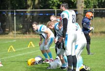 Haunted Field edition / 8-10-2016 eerste toernooi American Football Tilburg Wolves