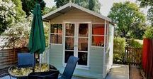SUMMER HOUSE / We offer a wide range of summerhouses to suit you and your garden, if you would like something special and would like to change windows/doors or have a different size please let us know.