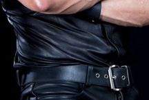 Leathermen / Gallery of gay, adult-oriented pictures of men in leather & uniform.