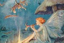 花の妖精 Fairies / 流れる暖かい透明な✨夢の世界✨