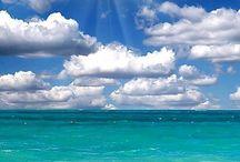 海 sea / 地球の青いところ 人類史の始まり