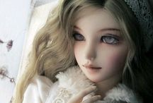 人形 Bjd Dolls&Blythe / Beautiful&Cute  凄い世界だなぁ。透き通る存在感✨✨✨ 作り手の心が伝わってくる子に惹かれます✨