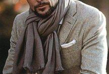 Men's Fashion Style / ストールの巻き方が素敵✨✨