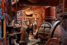 Abandoned Factories & Machines
