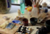 Restoration ceramics, stones, ivory / Restoration of ancient ceramic, stone, ivory and polychrome wood.