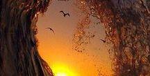 Céu / Nem o sol poderá brilhar se o céu não se abrir!  William Shakespeare.