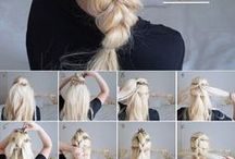 Braids, Braids, and Other Styles for Long Hair / When you have long hair, you're always looking for something fun to try. I love braids and wear one just about every day. Now, if I could just teach my hubby how to do a fishtail braid ... (sigh)
