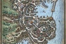 Forgotten Realms / Books, maps and images regarding the Forgotten Realms.