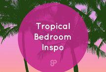 Tropical Bedroom Inspo