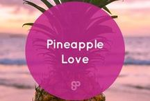 Pineapple Love / Life is sweeter with a dash of salt. - Kat Gaskin    Follow The Salty Pineapple Shop on Instagram: https://www.instagram.com/thesaltypineappleshop/