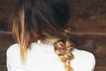 H A I R / ( hair flip ) / by OLIVIA VANCE