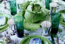table settings / by Jenny Rose-Innes