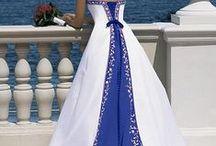 True Blue Design Inspiration / Blue ideas for weddings