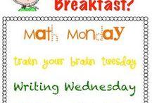Classroom Brain Breakfast
