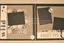 Scrapbooking That I Like / Ideas for scrapbook layouts, 12x12, 8.5x11, 8x8, mini albums and more. Stampin' Up!, stamp, how to, paper, scrapbook, card, rubber stamp, scrap, paper pumpkin with boo, craft, cards, handmade, craft, crafting, quick tip, tips, hobby, organization, storage, tutorial, video, studio stamps in the mail, pdf tutorials, fancy, folds, moving cards, big shot, sizzix, diy, stamp it up, project life, rubber stamp, invitations, announcements, wedding, shower, party, birthday, surprise, hand crafted