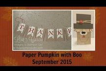 Paper Pumpkin / Creating alternate projects using Paper Pumpkin. Stampin' Up!, stamp, how to, paper, scrapbook, card, rubber stamp, scrap, paper pumpkin with boo, craft, cards, handmade, craft, crafting, quick tip, tips, hobby, organization, storage, tutorial, video, studio stamps in the mail, pdf tutorials, fancy, folds, moving cards, big shot, sizzix, diy, stamp it up, project life, rubber stamp, invitations, announcements, wedding, shower, party, birthday, surprise, hand crafted