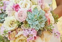 Summer Pastels / Summer pastel inspiration for English country weddings 2015